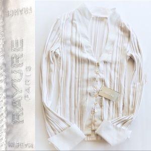 🇫🇷 Rayure Paris Sheer Striped Button Up 🇫🇷